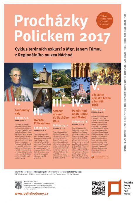 procházky Polickem 2017